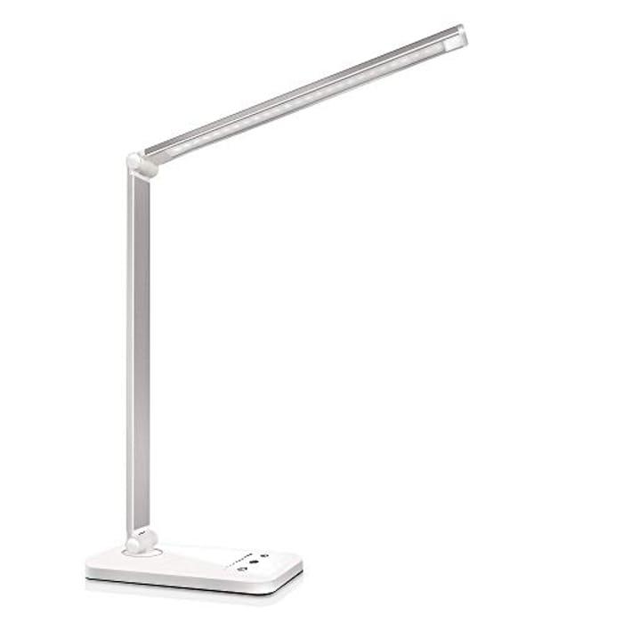 LED Desk Lamp, Eye-Caring Table Lamps,