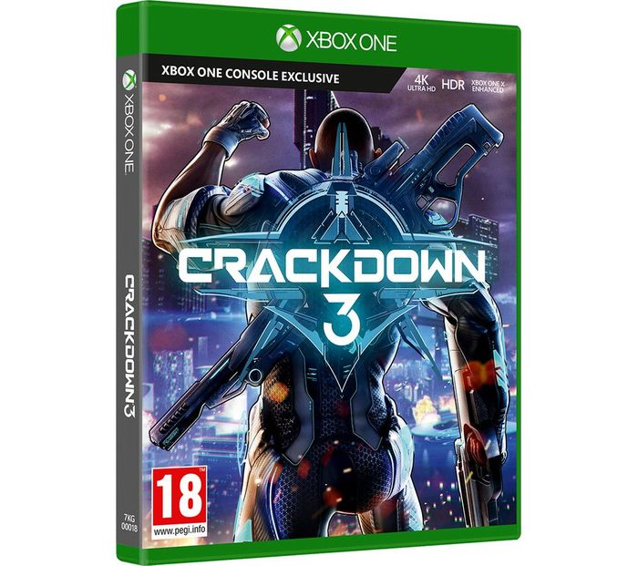 *SAVE £20* XBOX ONE Crackdown 3 + FREE 6 Month Spotify Premium Best Price