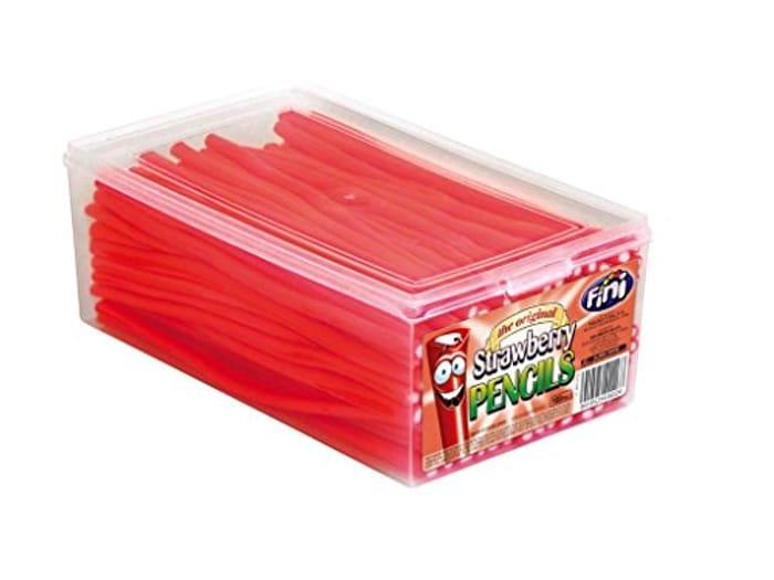 Fini Strawberry Pencils (Tub of 100)