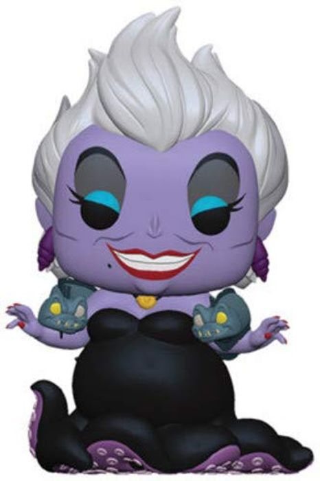 Little Mermaid-Ursula with Eels Collectible Figure, Multicolor