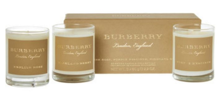 Burberry Three Piece Candle Collection 195g
