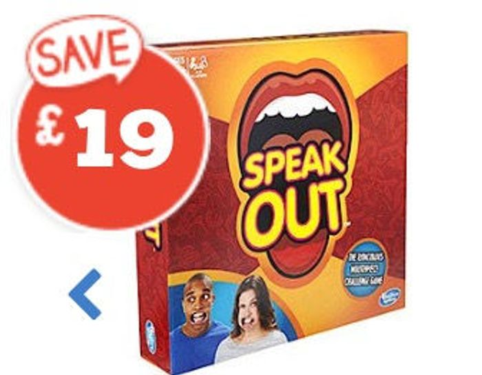 BIG Price Drop - Speak out Game
