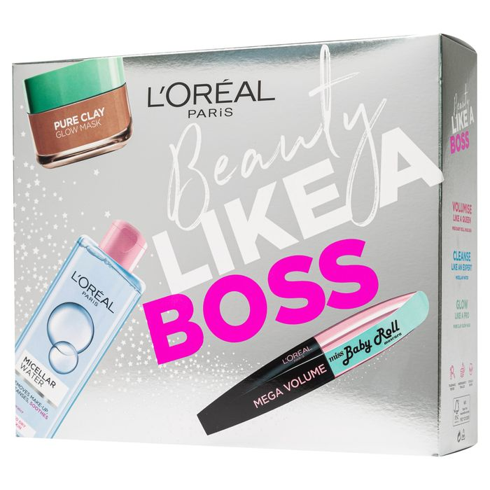 L'oreal Paris Beauty like a Boss Gift Set with 50% Discount - Great buy!