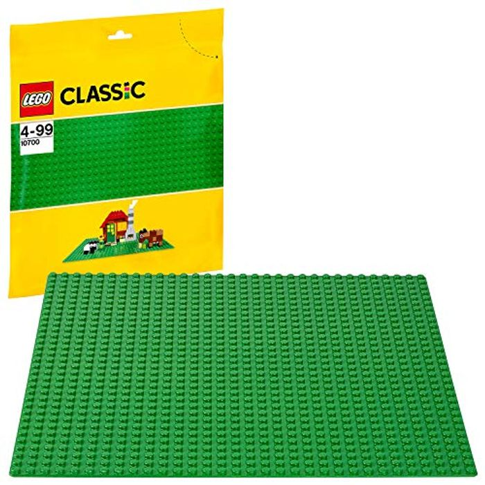 LEGO Green Base Plate 10 X 10 Inch (10700) - Save £0.69!