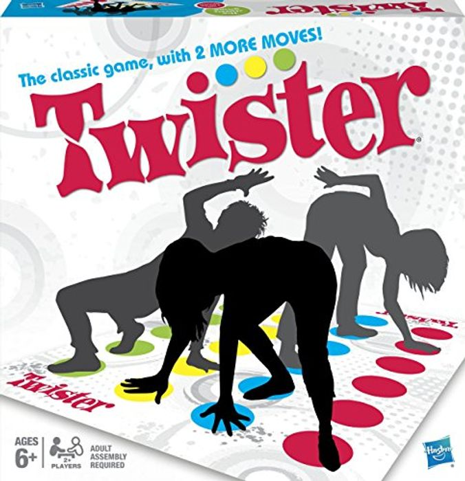 ALMOST 1/2 PRICE - Hasbro TWISTER Game