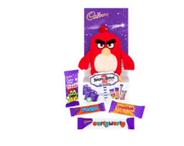 Cadbury Chocolate Assortment with Angry Birds Plush Toy - Half Price