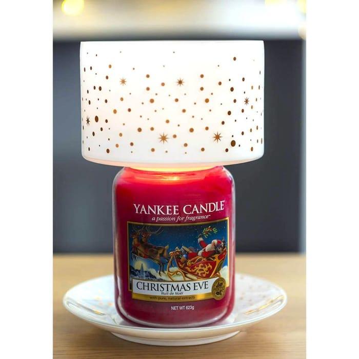 Yankee Candle Magical Christmas Lamp Shade & Tray Set (candle sold sep)