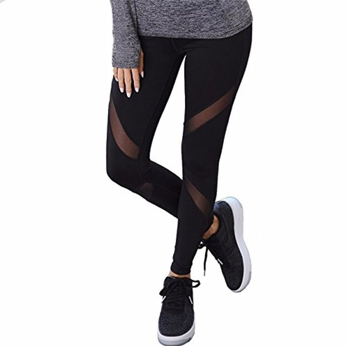 Best Price! MISS MOLY Women Sports Mesh Trousers at Amazon