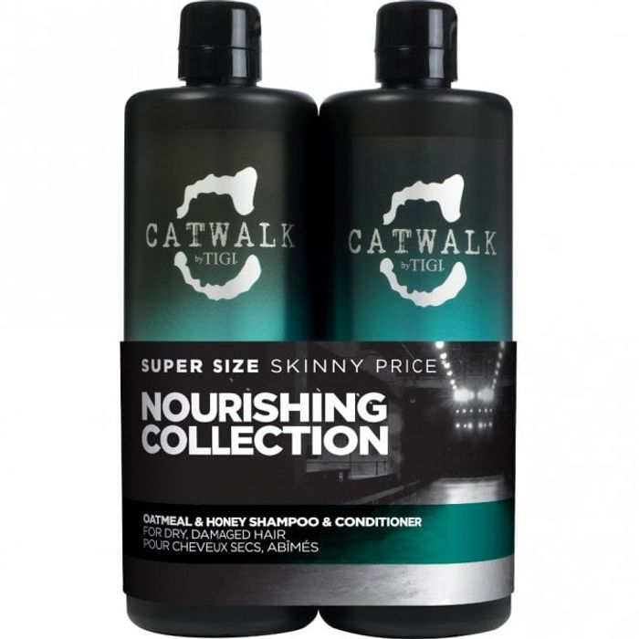 Tigi Catwalk Oatmeal and Honey Tween Set Shampoo and Conditioner - Save £1.50!