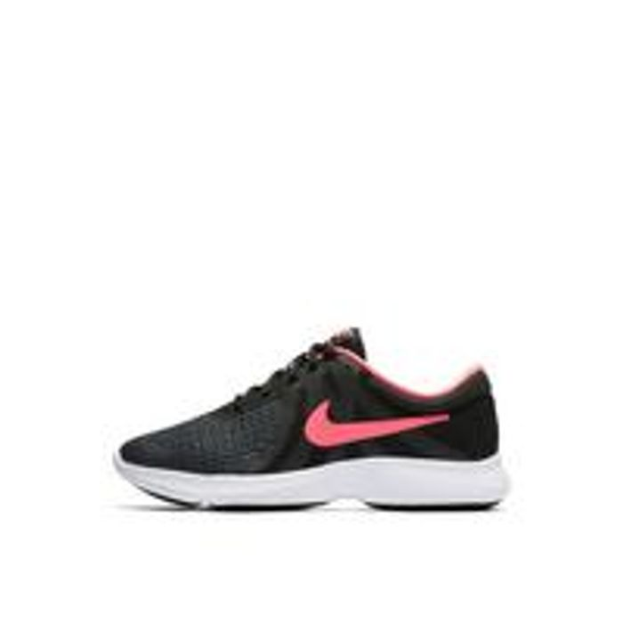 NikeRevolution 4 Junior Trainer - Black/Pink - 43% Off!