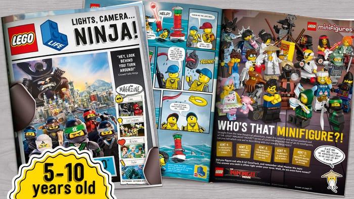 Free Childrens LEGO Life Magazine!