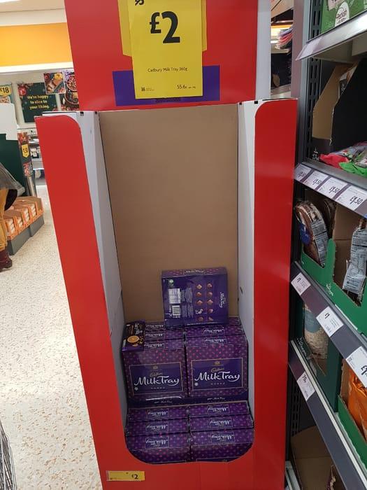 Cadburys Milk Tray 360g