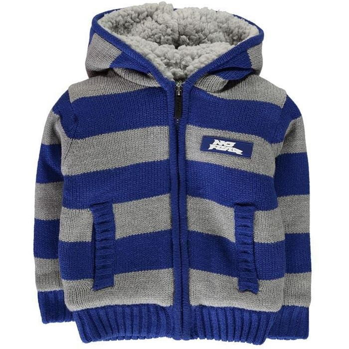 No Fear Boys Striped Zip up Hoody