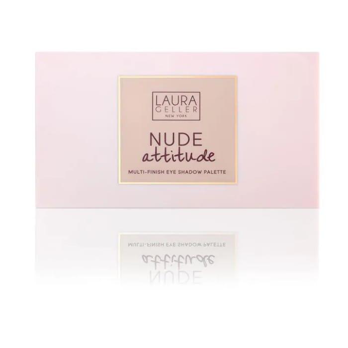 LAURA GELLER Nude Attitude Multi-Finish Eye Shadow Palette