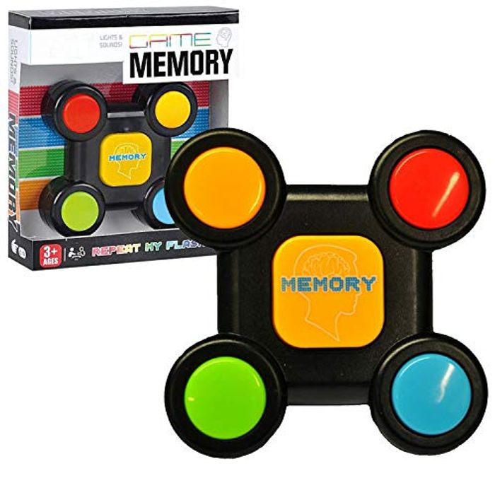Memory Game Light & Sound Sequence Remember Challenge FREE DELIVERY