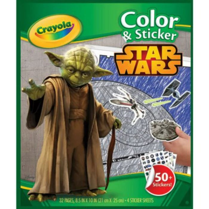Cheap Crayola Star Wars Colouring & Sticker Set, reduced by £4!