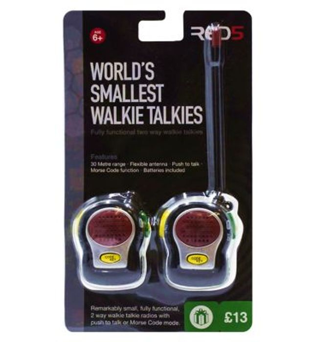 RED5 Worlds Smallest Walkie Talkies