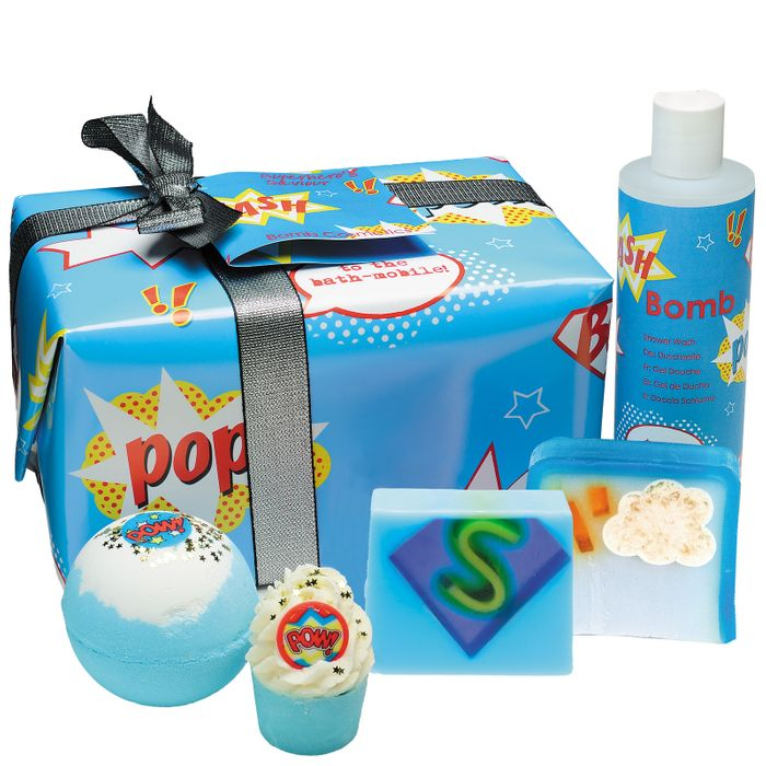 Bomb Cosmetics Gift Packs Superhero's Saviour
