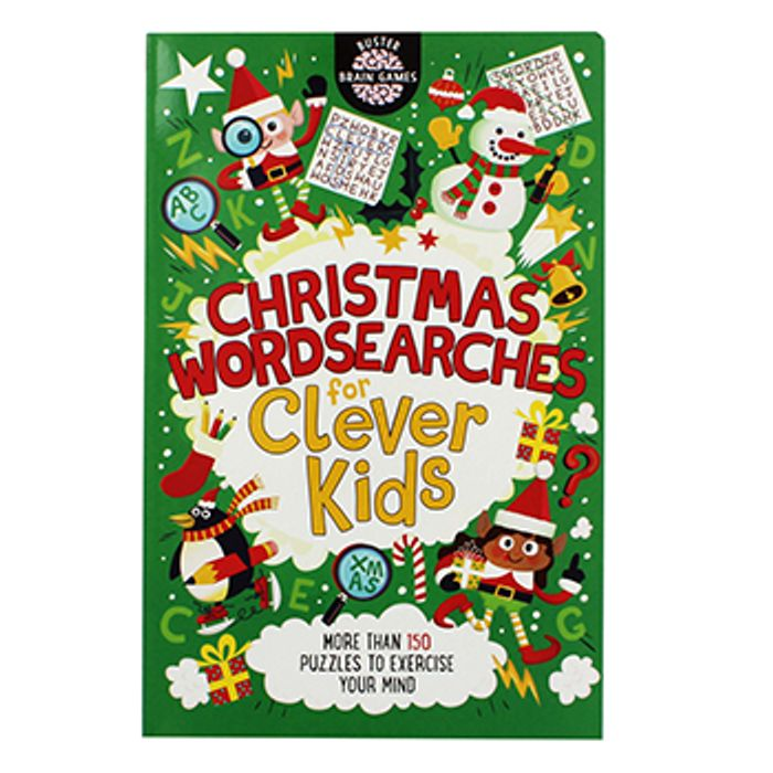 Christmas Wordsearches for Clever Kids Only £1.50 with Code