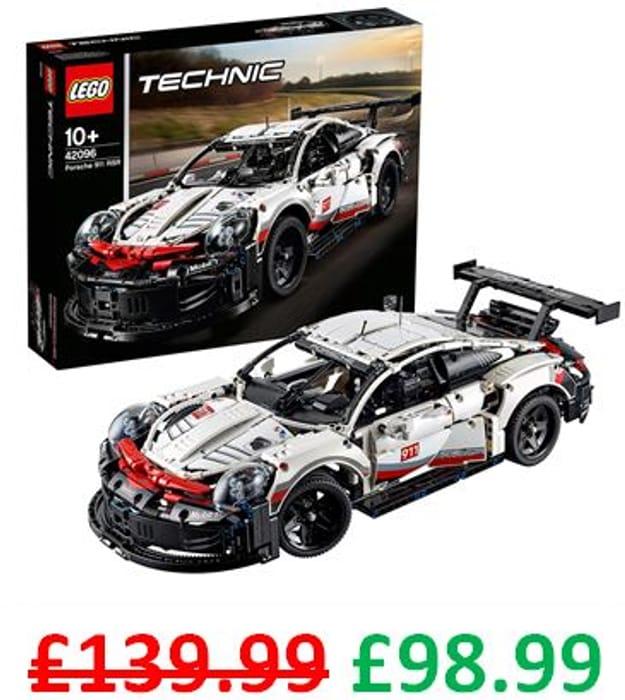 £41 OFF - LEGO Technic - Porsche 911 RSR (42096)