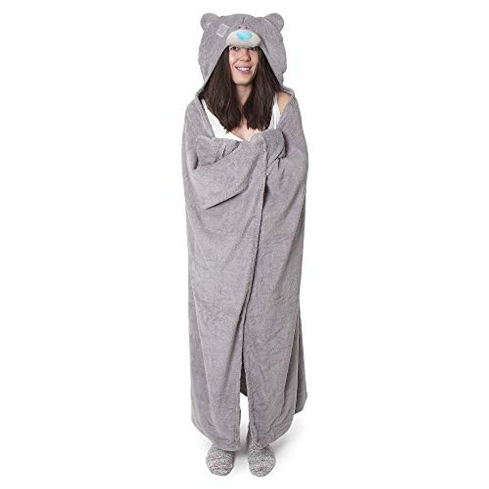 Me to You Tatty Teddy Grey Hooded Blanket - Save £4!