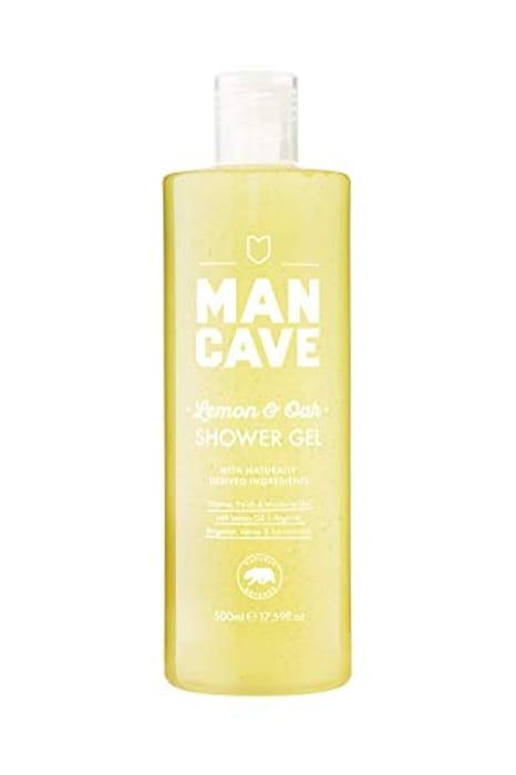 Man Cave Vegan Shower Gel