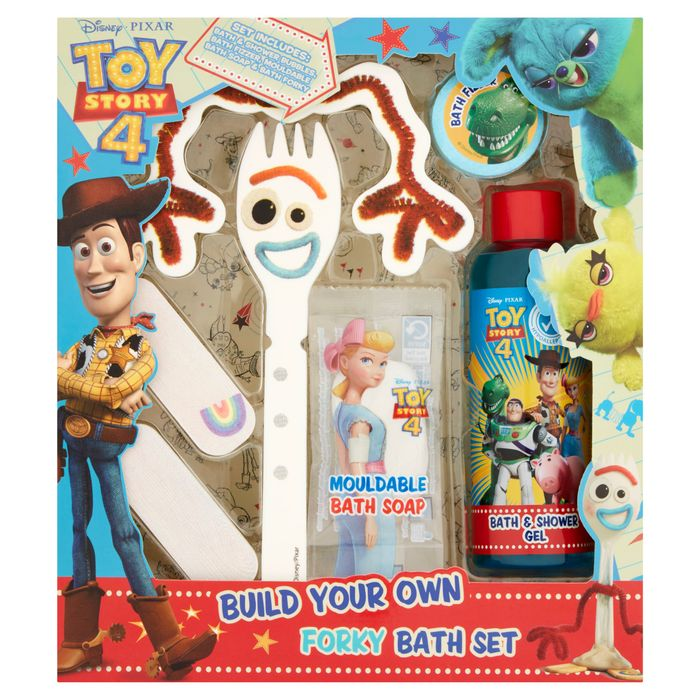 Disney Toy Story Build Your Own Forky Bath Set HALF PRICE