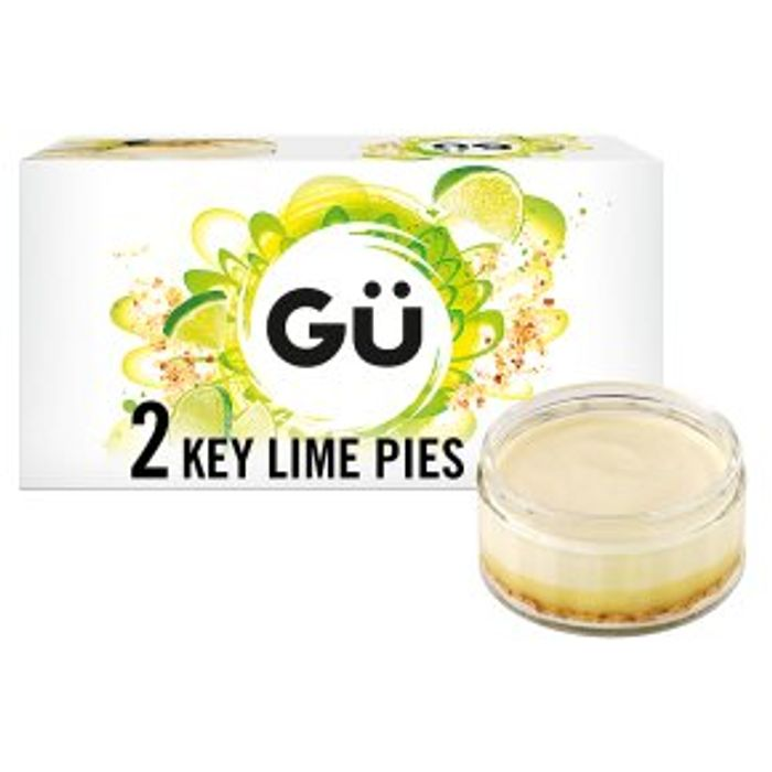 G Key Lime Pie Cheesecake Desserts 2x78g - HALF PRICE!