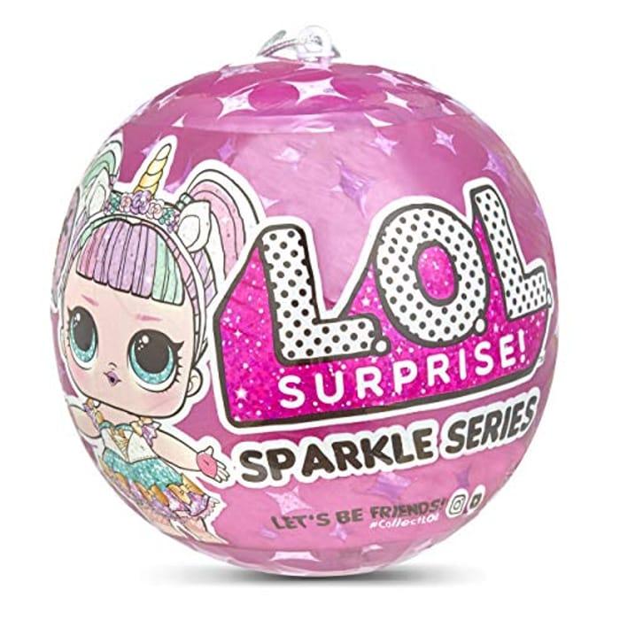 L.O.L Surprise! L.O.L Sparkle Series with 7 Surprises - Save £2!