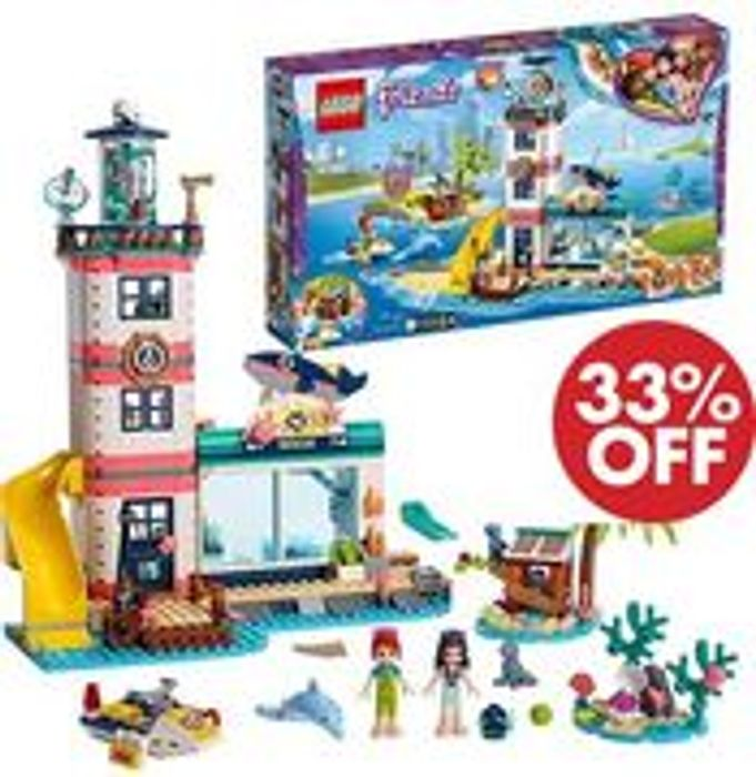 £18 OFF! LEGO FRIENDS Lighthouse Rescue Center (41380)