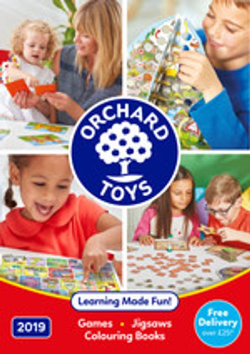 Free Orchard Toys 2019 Catalogue by Post