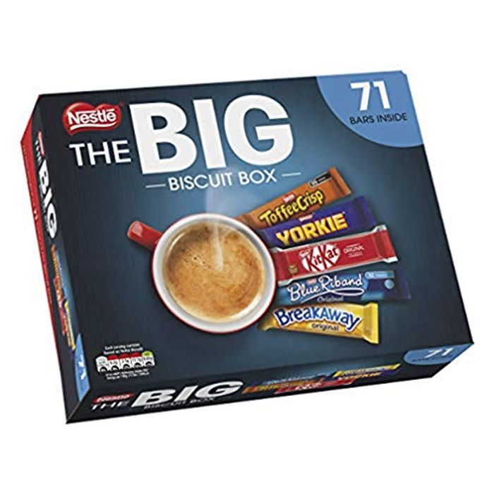Best Ever Price! Nestl the Big Biscuit Box 71 Chocolate Biscuit Bars - 47% Off!