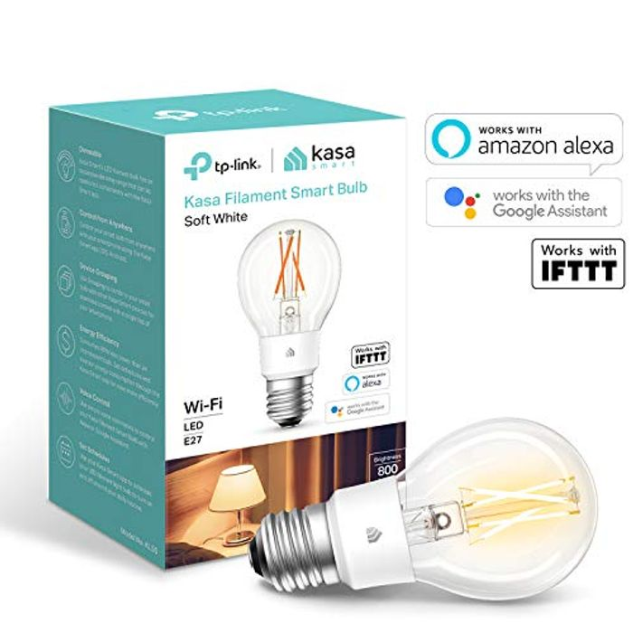 Smart Bulb by TP-Link, WiFi E27, 7W - Save £4!