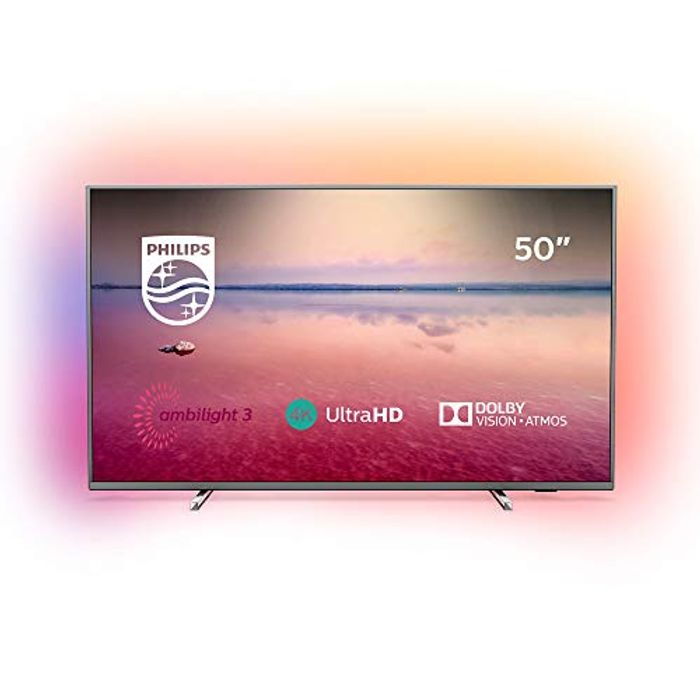 Philips 50PUS6754/12 50-Inch 4K UHD Smart TV with Ambilight