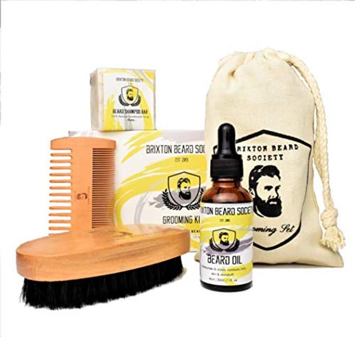 Fab Beard Grooming Gift Set Made in UK - 50% Off
