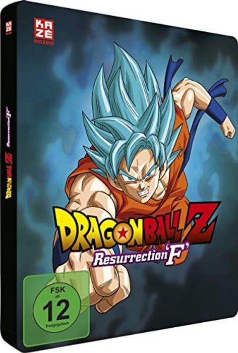 Dragon Ball Z - Resurrection F (BD SteelBook + DVD) (German Import)