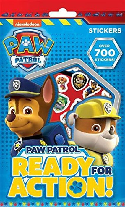Paw Patrol 700 Assorted Cheap Stickers Children's Party Bag Stocking Filler Gift