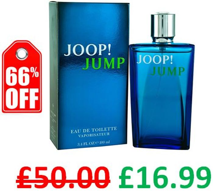 Cheap Joop! Jump 100ml EDT for Men at Amazon