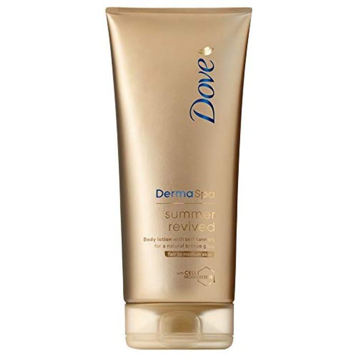 Dove DermaSpa Summer Revived Fair to Medium Gradual Self Tan 200ml