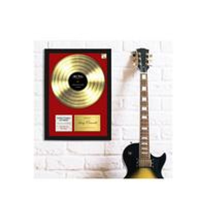 """Personalised """"Our Song"""" Framed Picture"""
