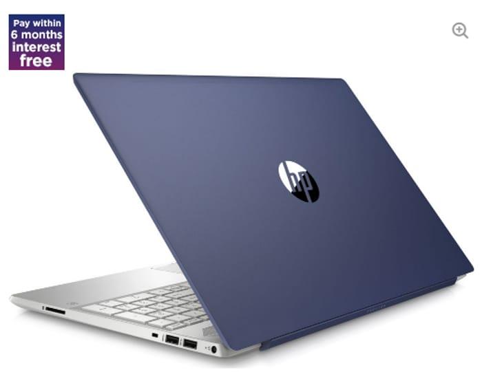 """HP Pavilion 15-Cw0598sa 15.6"""" AMD Ryzen 3 Laptop - 128 GB SSD, Blue"""