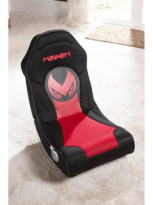 *Save £15* X Rocker Mayhem Micro 2.0 Floor Rocker Gaming Chair