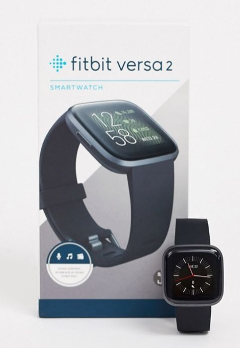 Fitbit Versa 2 Smart Watch in Black on Sale From £200 to £160