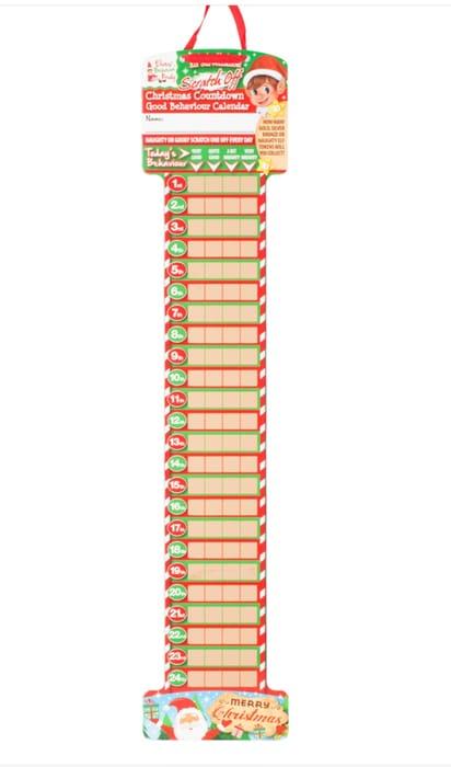 Elf Advent Calendar - Save 50%