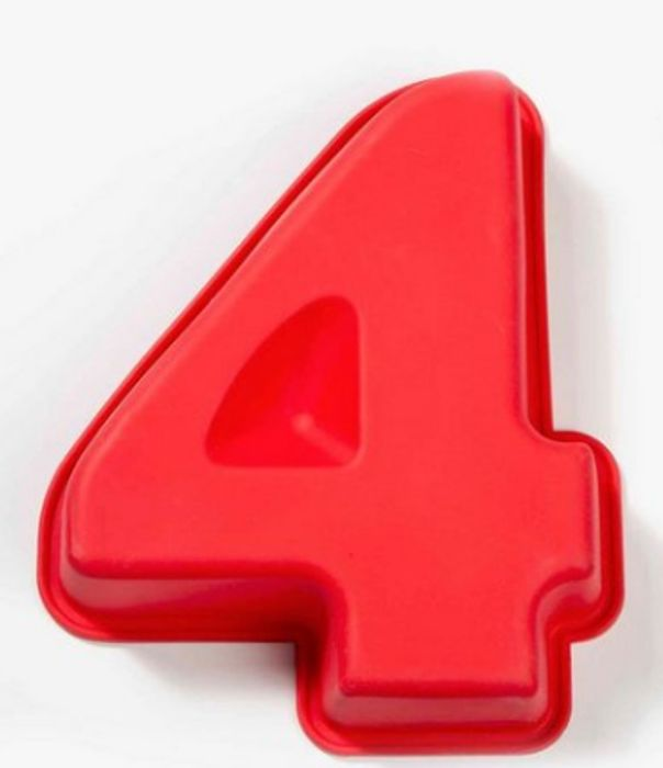 Silicone Number Cake Mould on Sale From £1.29 to £0.74