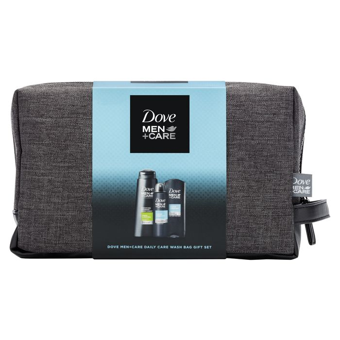 Dove Men+Care Daily Care Washbag Gift Set with 50% Discount - Great buy!