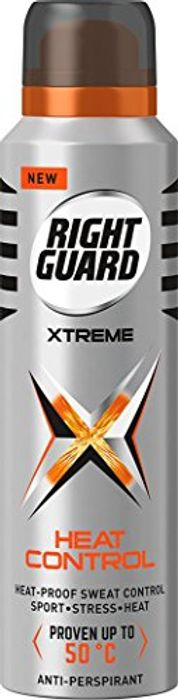 Best Price! Right Guard Xtreme Heat Control Anti-Perspirant 150 Ml - Pack of 6
