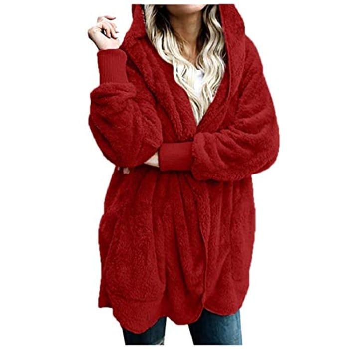 YEBIRAL Women Fashion Coat/wrap