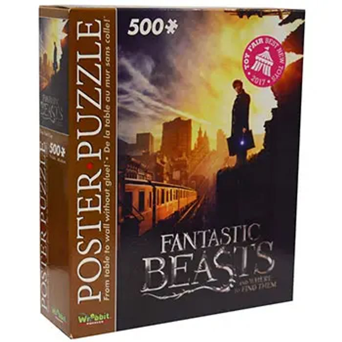 Fantastic Beasts 500 Piece Poster Puzzle