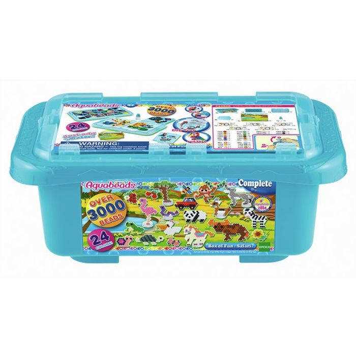 Aquabeads Box of Fun With Over 3000 Beads! Save £6.70!